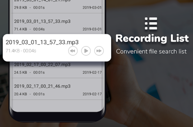 Super Digital Voice Recorder 2019 screenshot 4