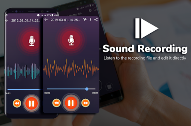 Super Digital Voice Recorder 2019 screenshot 5