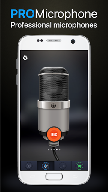 Pro Microphone screenshot 1