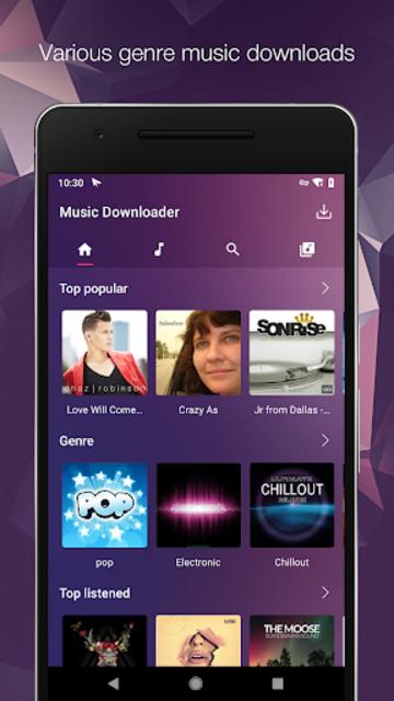 MP3 Music Downloader & Free Mp3 screenshot 1