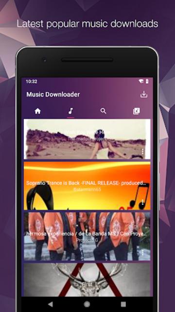 MP3 Music Downloader & Free Mp3 screenshot 3