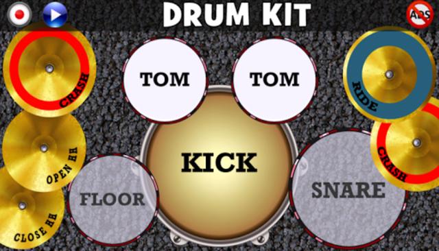 Drum Kit(No Ads) screenshot 2