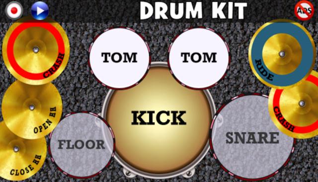 Drum Kit(No Ads) screenshot 3