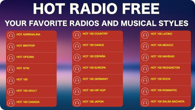 FM Radio Internet screenshot 5