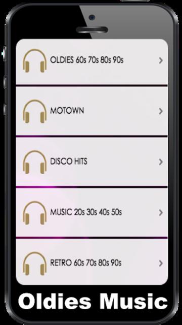 Oldies 60s 70s 80s 90s Radios. Retro Radios Free screenshot 1