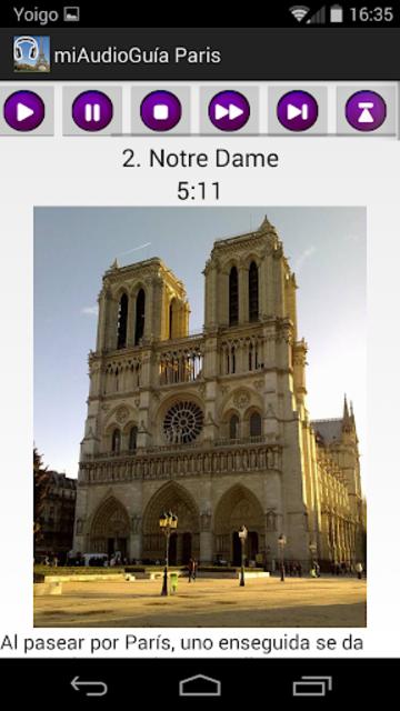 Audio Guía Paris MV screenshot 3