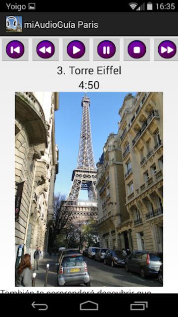 Audio Guía Paris MV screenshot 4