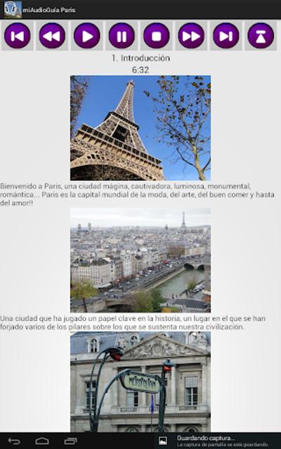 Audio Guía Paris MV screenshot 10