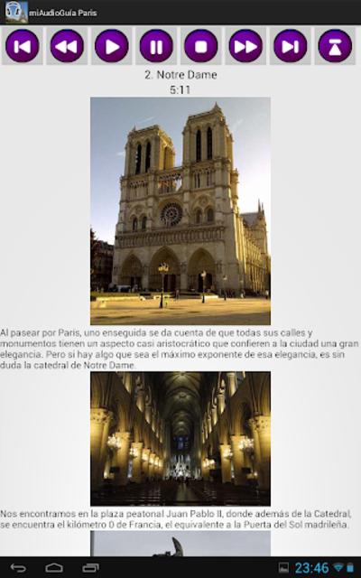 Audio Guía Paris MV screenshot 11