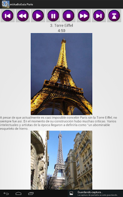 Audio Guía Paris MV screenshot 12