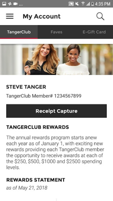 Tanger Outlets screenshot 3