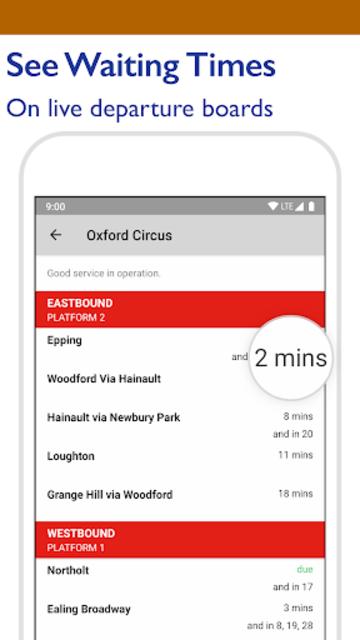 Tube Map - TfL London Underground route planner screenshot 5