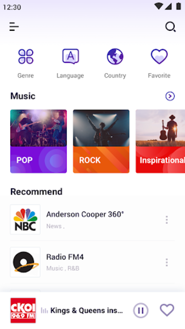 My Radio FM - FM radio,Music & free time screenshot 1