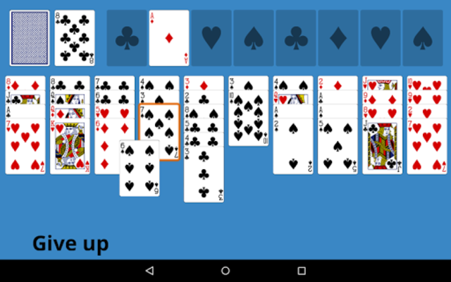 Forty Thieves Solitaire screenshot 5