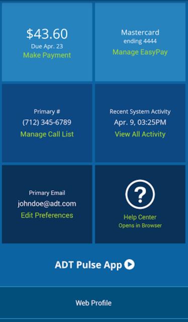 MyADT: ADT Customer Service screenshot 2