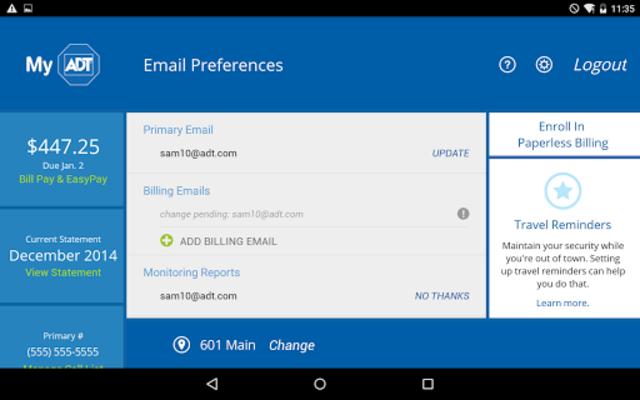 MyADT: ADT Customer Service screenshot 13