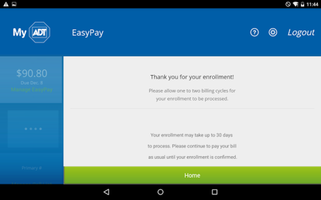 MyADT: ADT Customer Service screenshot 14