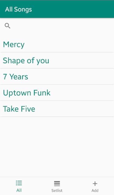 Chordy - Simply write down chords screenshot 1