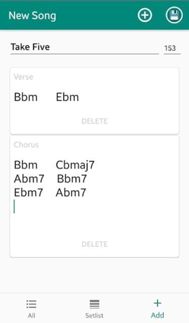 Chordy - Simply write down chords screenshot 3