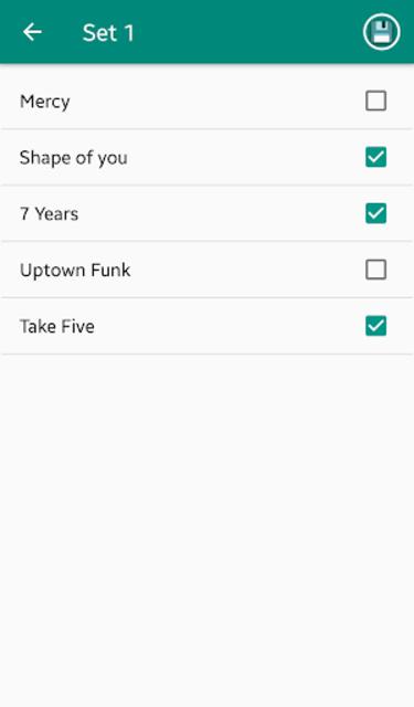 Chordy - Simply write down chords screenshot 5
