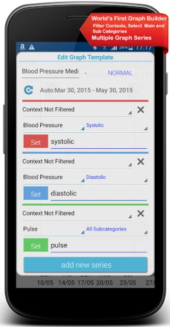 Diabetes, Blood Pressure, Health Tracker App screenshot 4