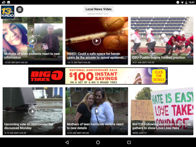 NewsChannel 13 KRDO.com screenshot 11