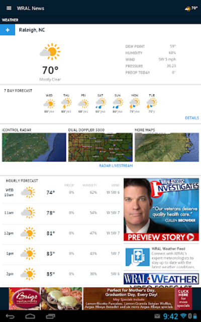 WRAL News App screenshot 9