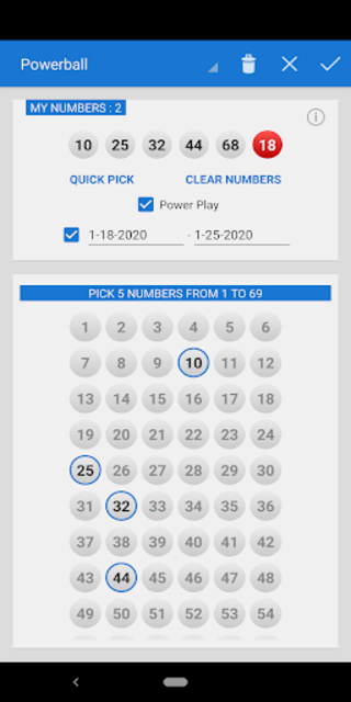 Mega Millions + Powerball Lotto Games in US screenshot 6