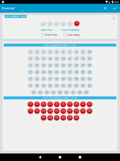 Mega Millions & Powerball Lotto Games in US screenshot 14