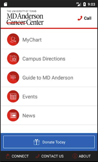 MD Anderson Mobile screenshot 2