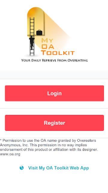 OA 12 Steps App - Overeaters screenshot 1