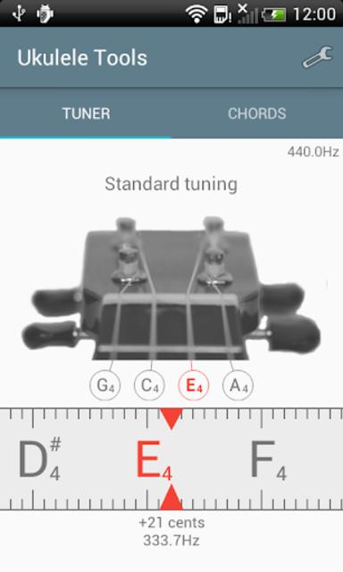 Ukulele Tuner screenshot 1