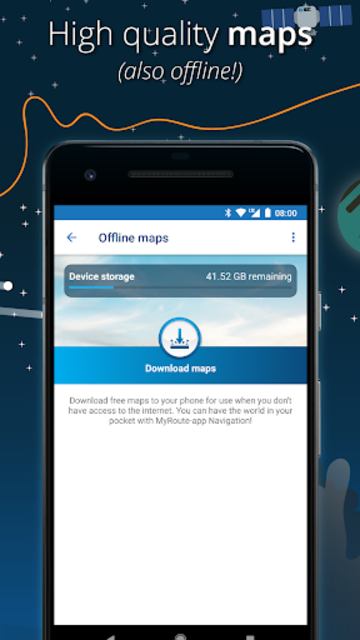 MyRoute-app Navigation: route editing & navigation screenshot 3