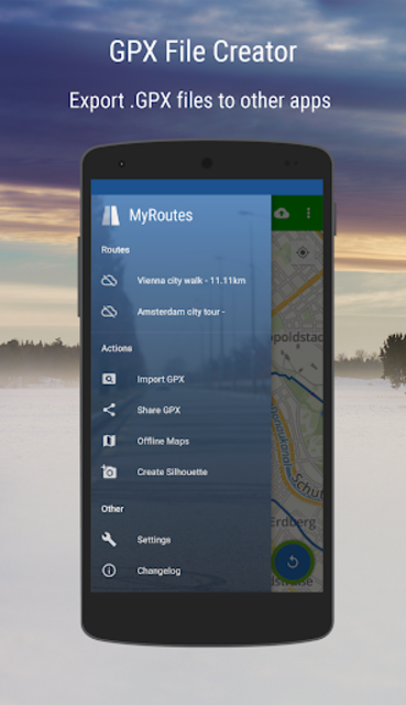 MyRoutes Route Planner Pro screenshot 1