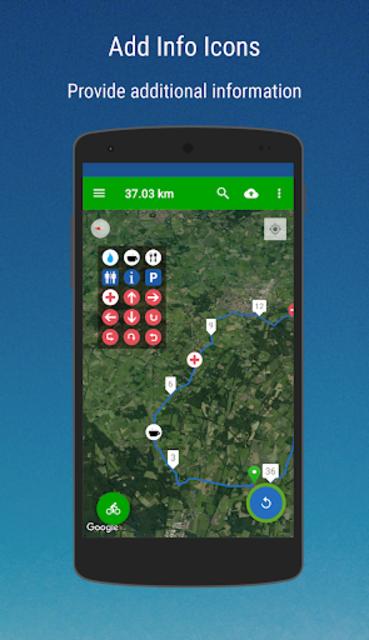 MyRoutes Route Planner Pro screenshot 8