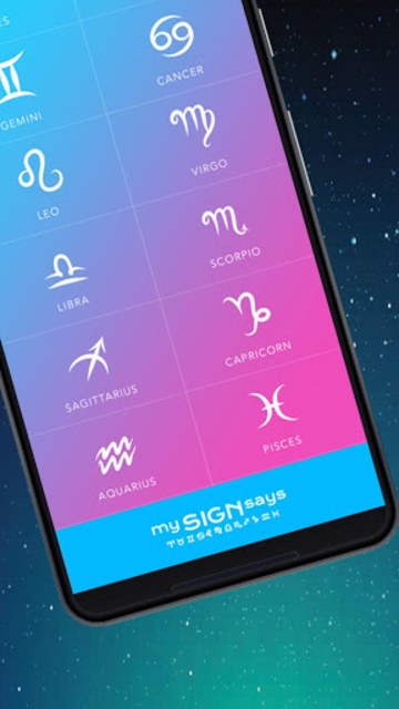 MySignSays - Love Horoscope, Tarot Readings & More screenshot 2