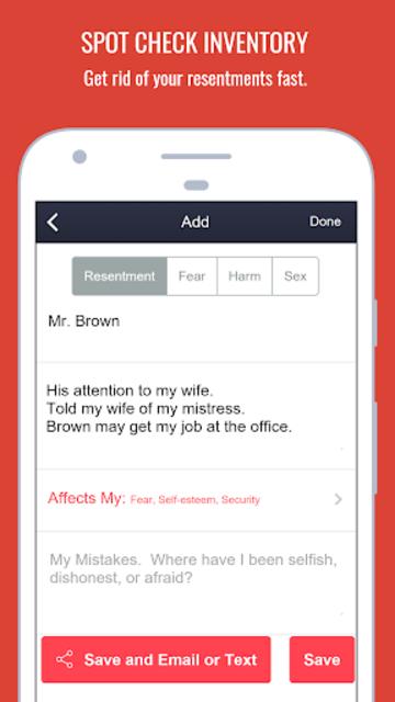 MySpiritualToolkit - 12 Step AA App for Alcoholics screenshot 6