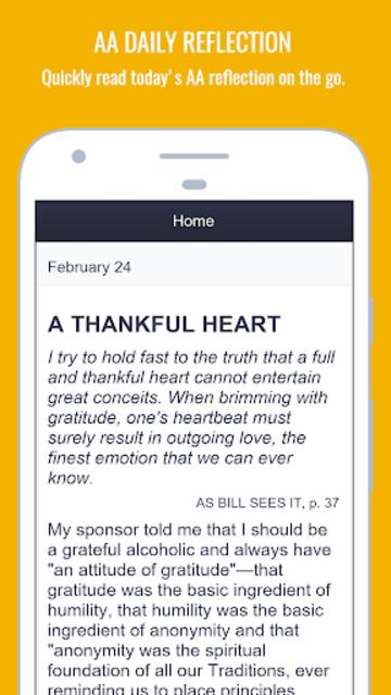 MySpiritualToolkit - 12 Step AA App for Alcoholics screenshot 2