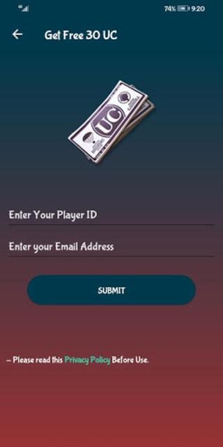 Free UC and Royal Pass screenshot 2