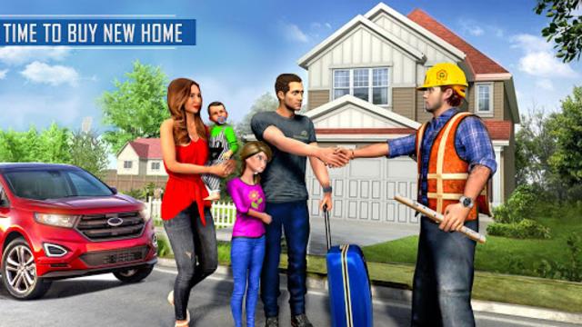 New Family House Builder Happy Family Simulator screenshot 1