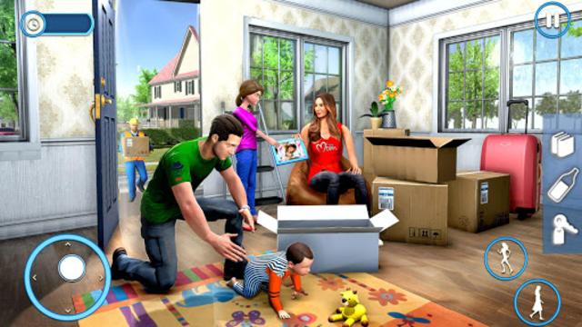 New Family House Builder Happy Family Simulator screenshot 9