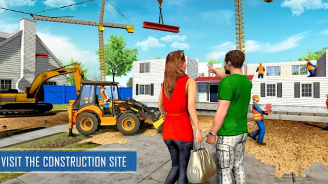 New Family House Builder Happy Family Simulator screenshot 11