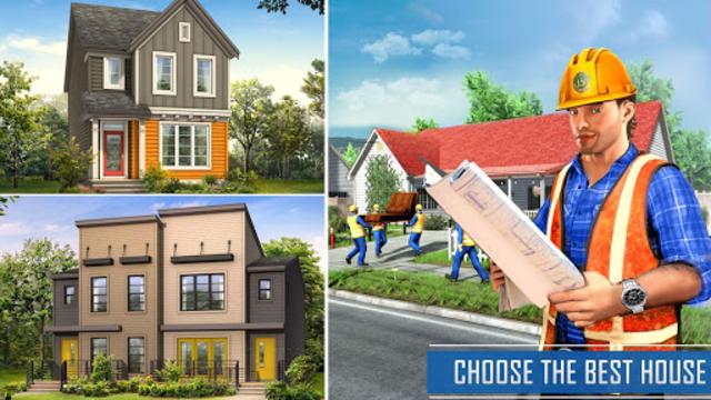 New Family House Builder Happy Family Simulator screenshot 14
