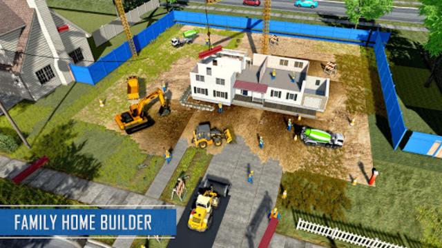 New Family House Builder Happy Family Simulator screenshot 16