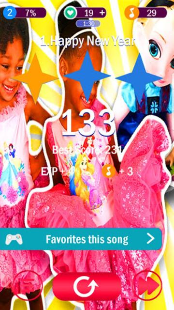 Naiah and Elli Game piano screenshot 3