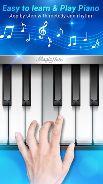 Piano Notes - Magic Music Games screenshot 1