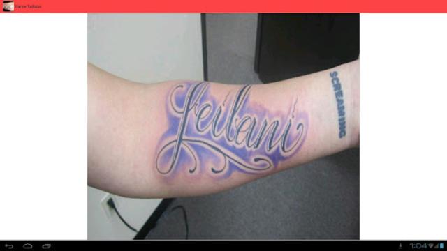 Name Tattoos - Find or List Great Tattoo Ideas screenshot 12