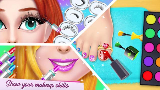 Fashion Model Makeup Salon : Girls Makeover Game screenshot 3