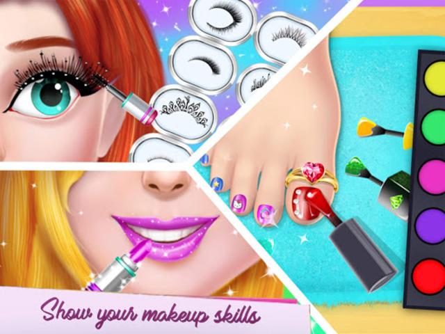 Fashion Model Makeup Salon : Girls Makeover Game screenshot 8