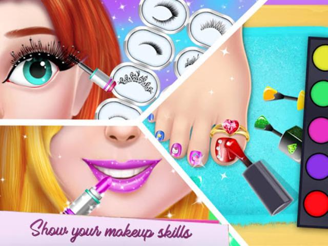Fashion Model Makeup Salon : Girls Makeover Game screenshot 13